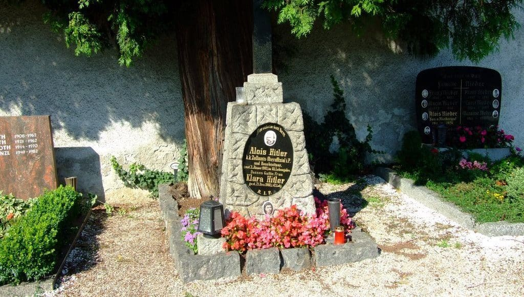 Место погребения родителей Гитлера