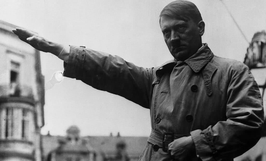 Политическая карьера Гитлера