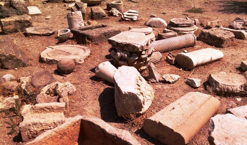 Археологические раскопки и находки