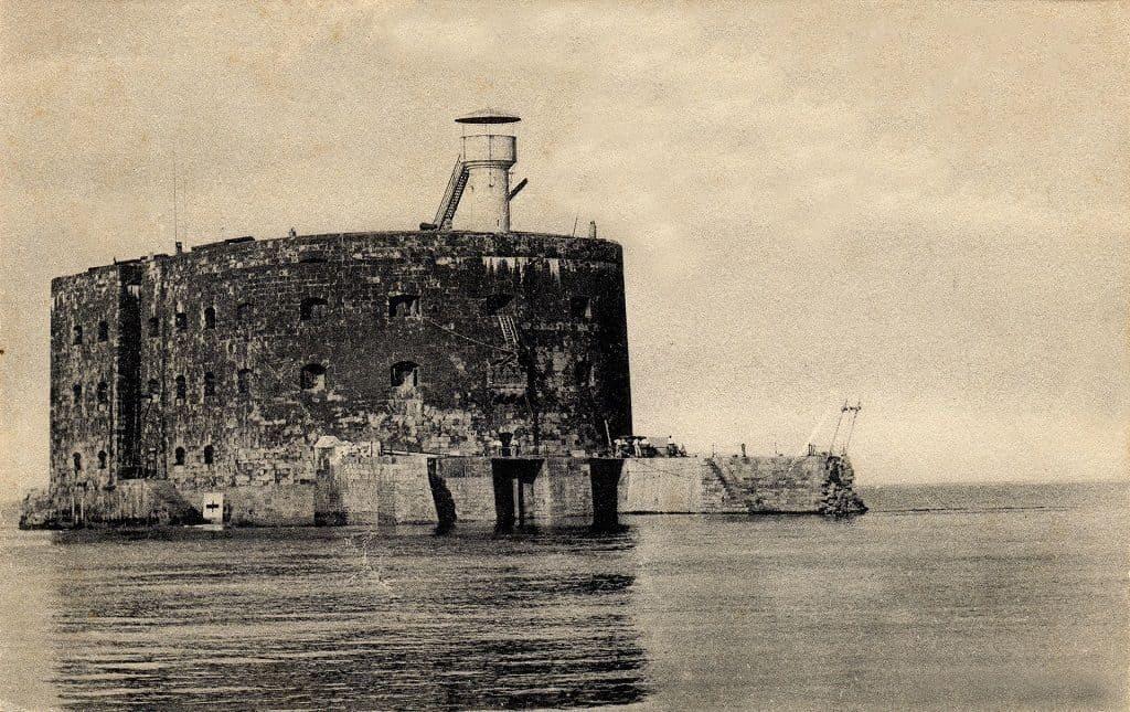 Форт Боярд во времена Второй Мировой войны