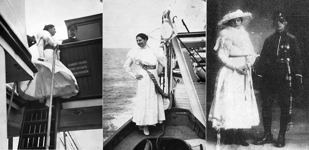 Мата Хари на корабле
