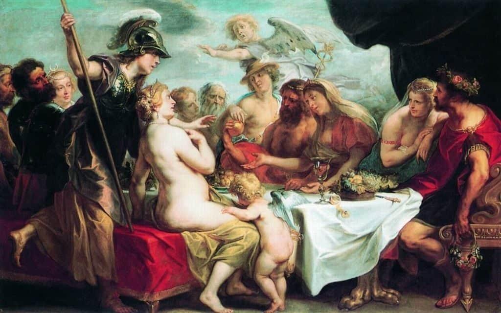 Свадьба Фетиды и Пелея