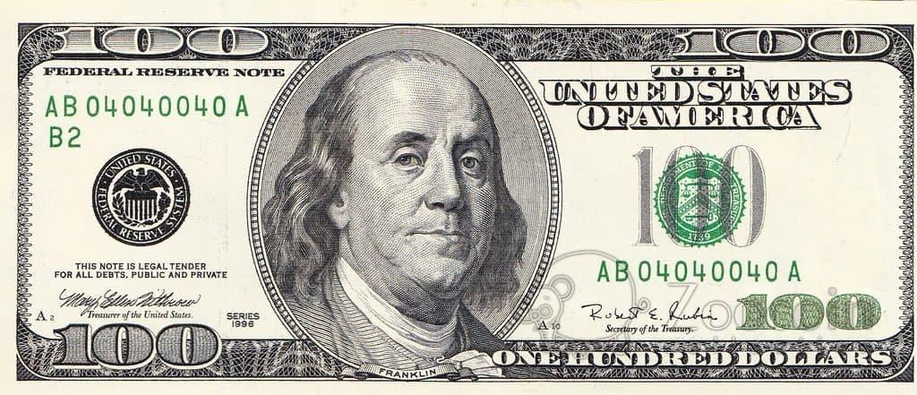 Сто долларов