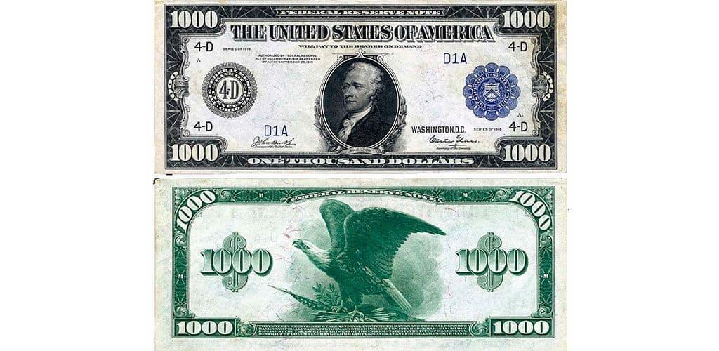 Тысяча долларов