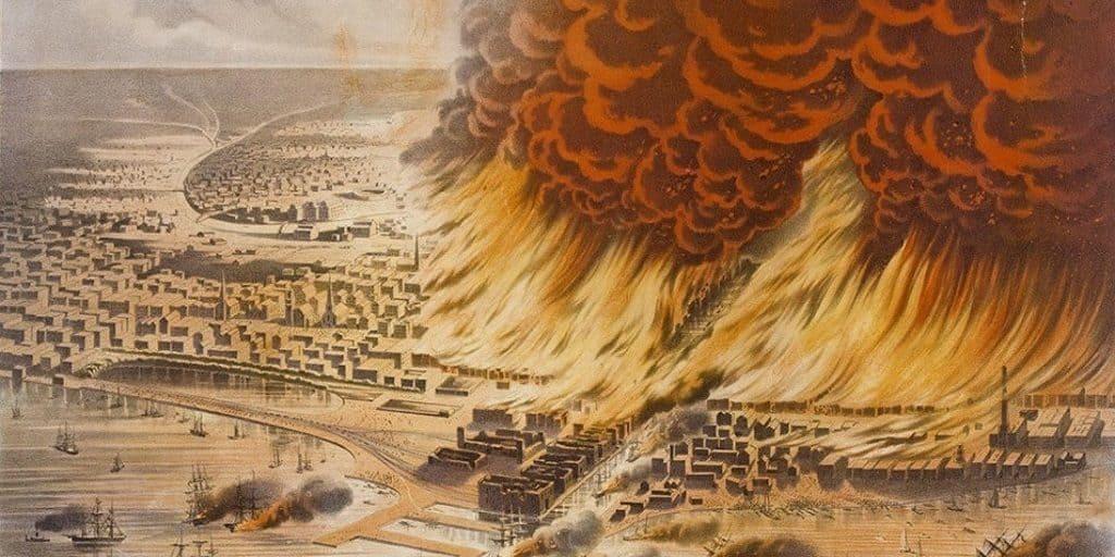Пожар 1871 г. в Чикаго
