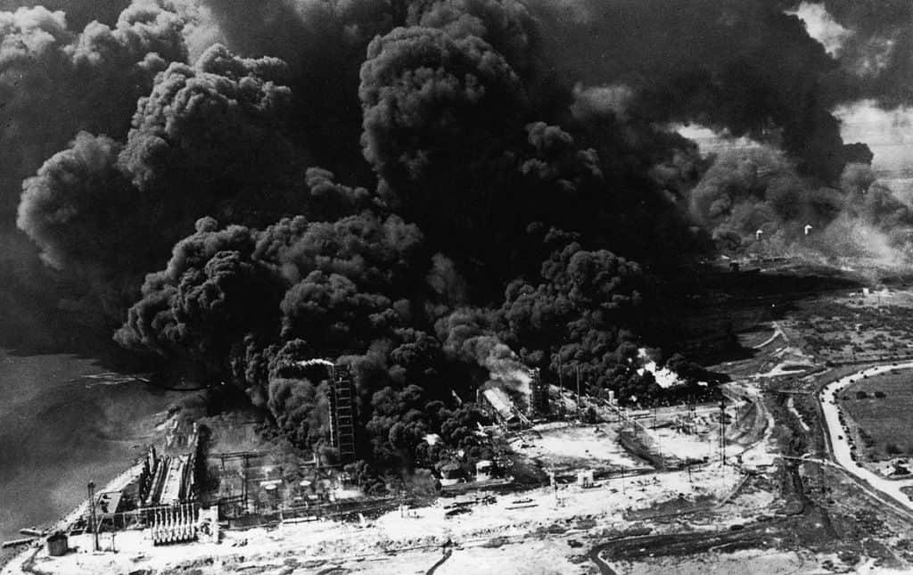 Пожар на судне «Гранкан», в Техас-Сити