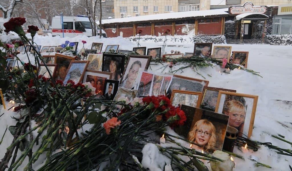 """5 декабря 2009 г. пожар в Перми, ресторан """"Хромая лошадь"""""""