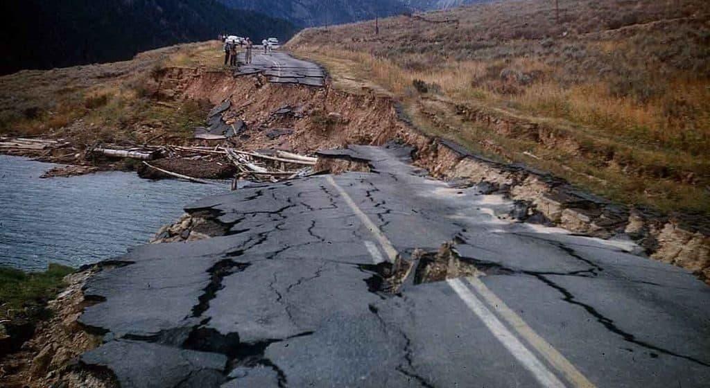 Землетрясения в районе Йеллоустоуна