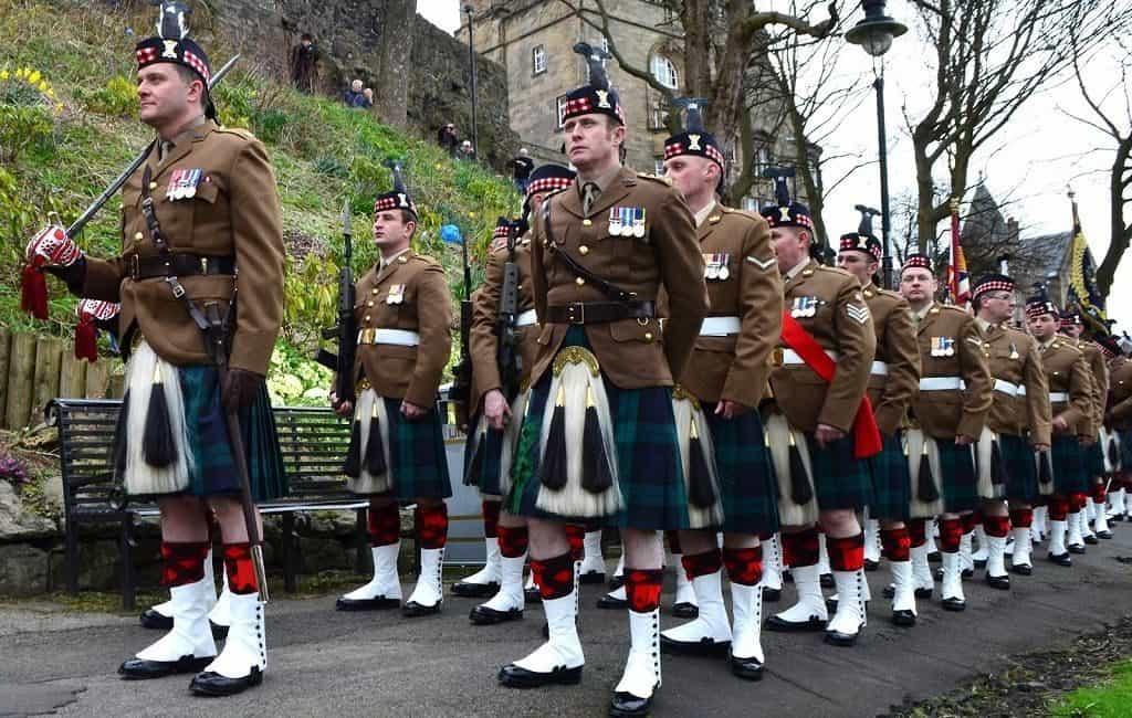 Военная форма Шотландии
