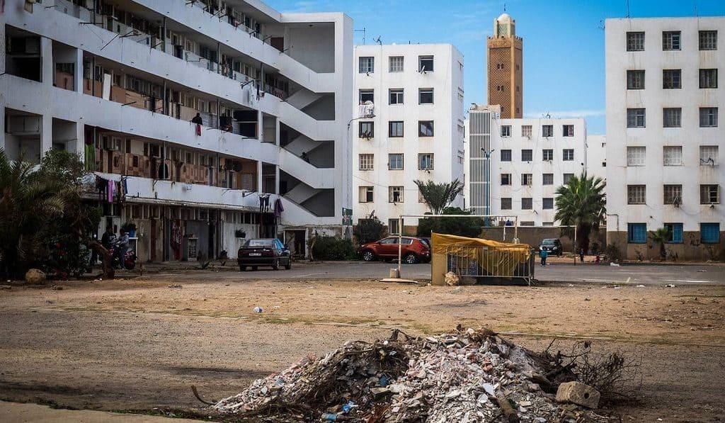 Спальный район в Марокко