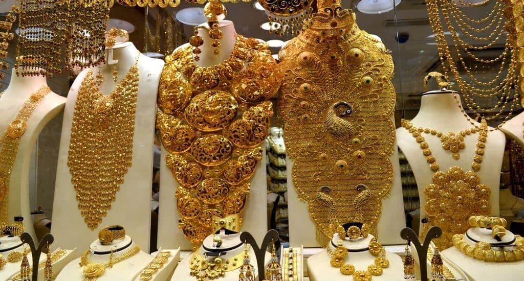 Восточные золотые украшения