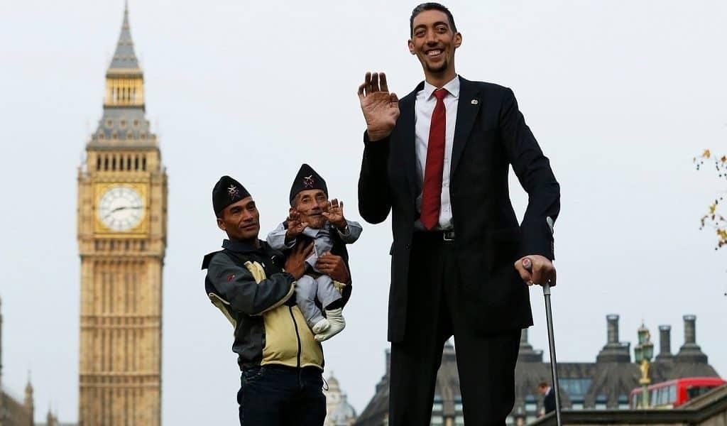 Высокие люди на планете