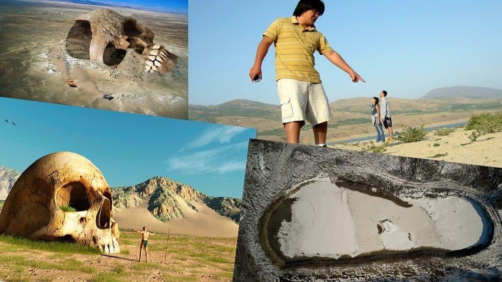 Археологические находки великанов