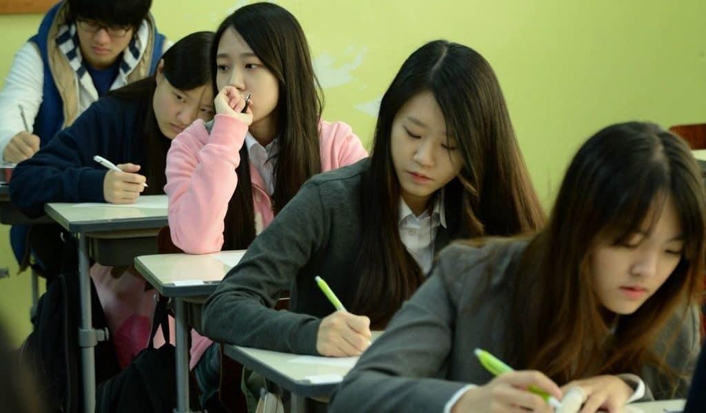 Экзамены в Южной Корее