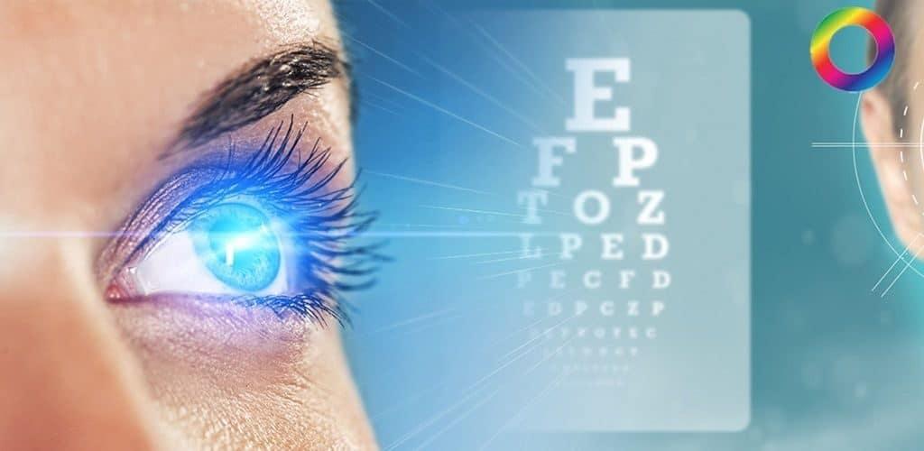 Острота зрения у человека