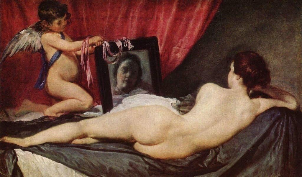 """""""Венера с зеркалом"""", Диего Веласкес"""