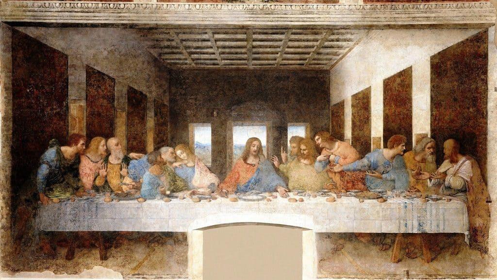 """Тайная вечеря"", Леонардо да Винчи"