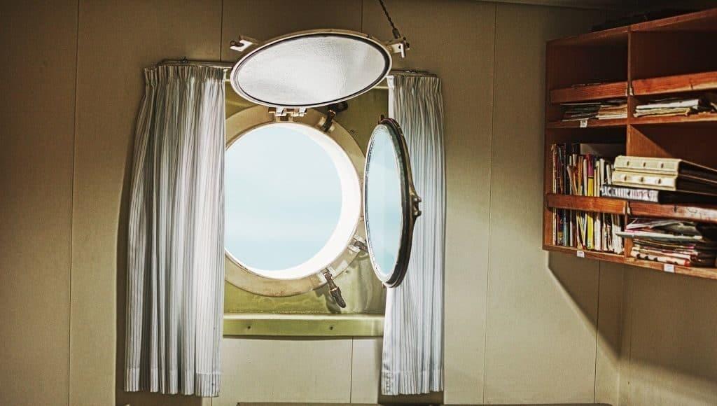 Иллюминаторы на корабле