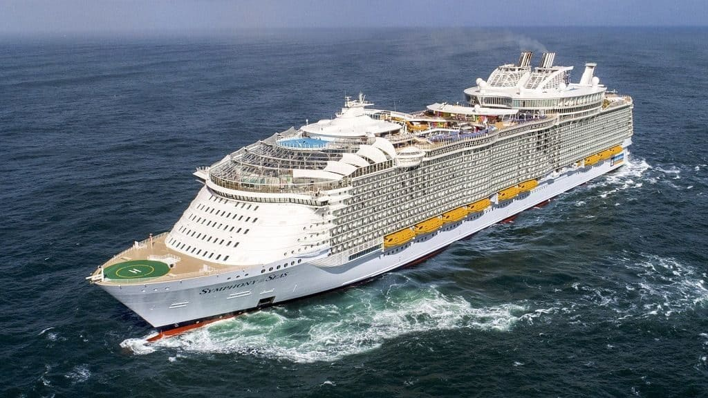Маршруты «Symphony of the Seas»
