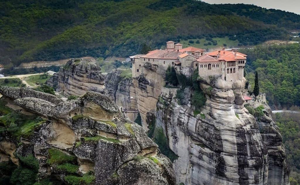 Монастырь Метеоры в Греции