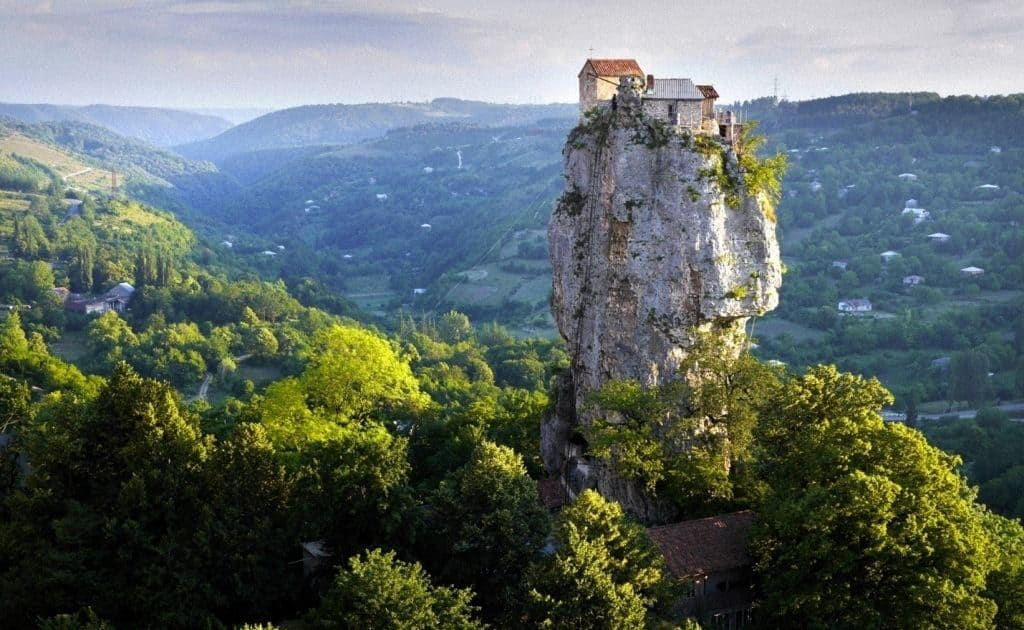 Грузия — Кацхийский Столп