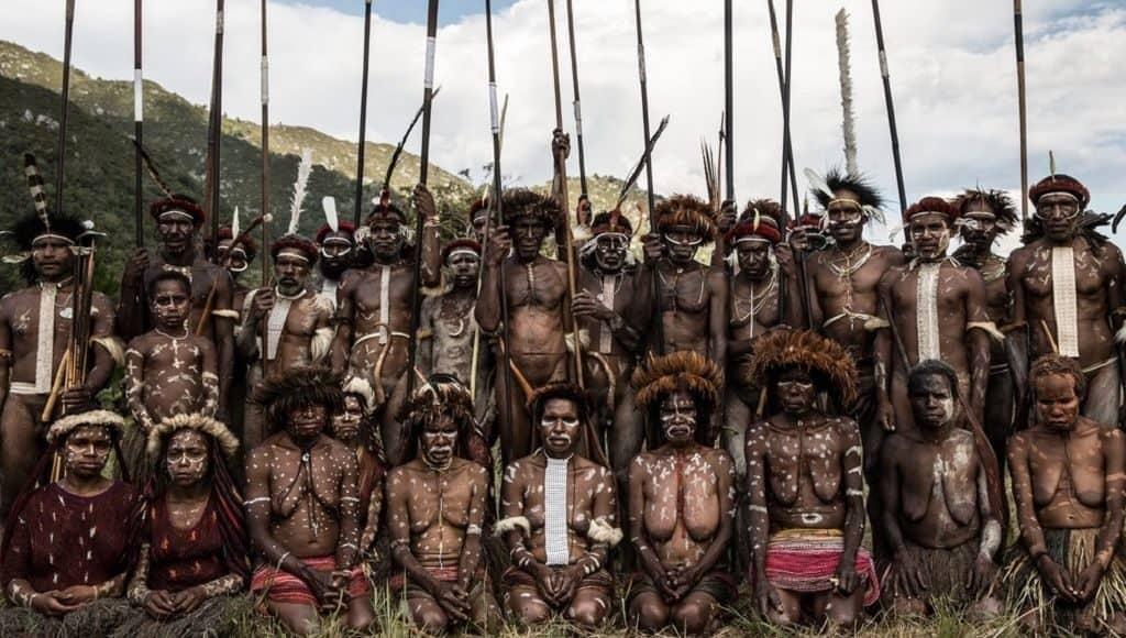 Яли - обитатели горных лесов Папуа-Новой