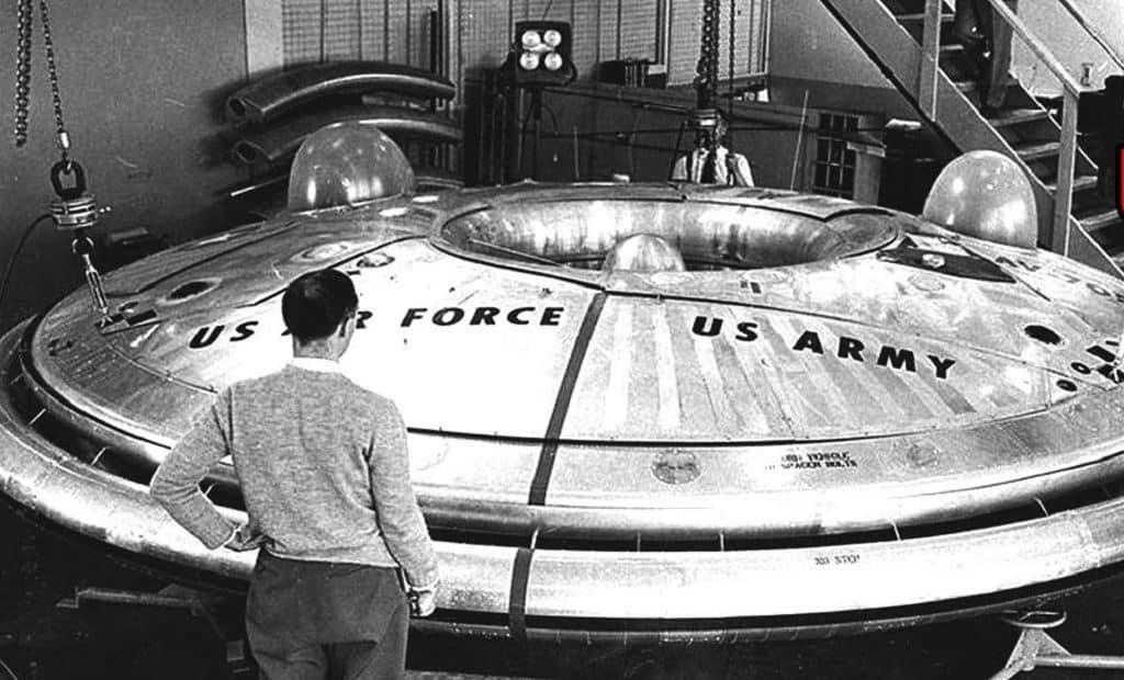 НЛО, найденный в 1947 году