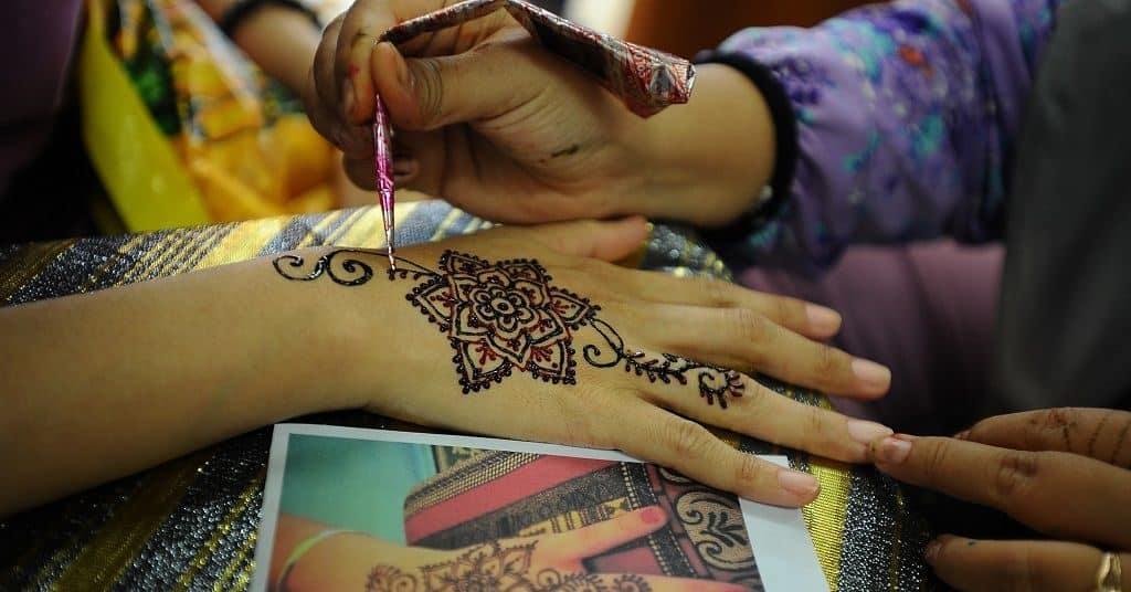 Свадебные мехенди