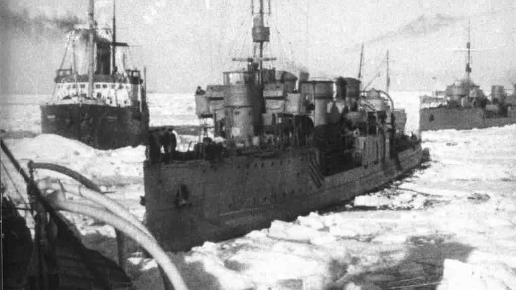 Экспедиция советских полярников 1936 г.