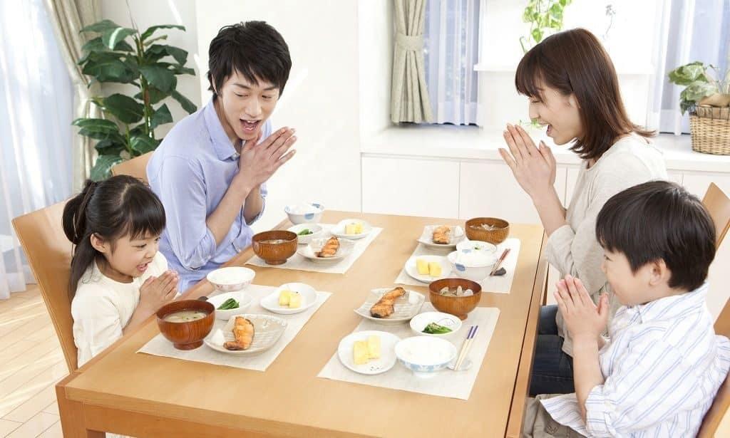 Питание в японской семье