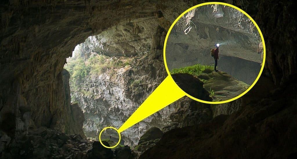 Самая большая пещера в провинции Чунцин