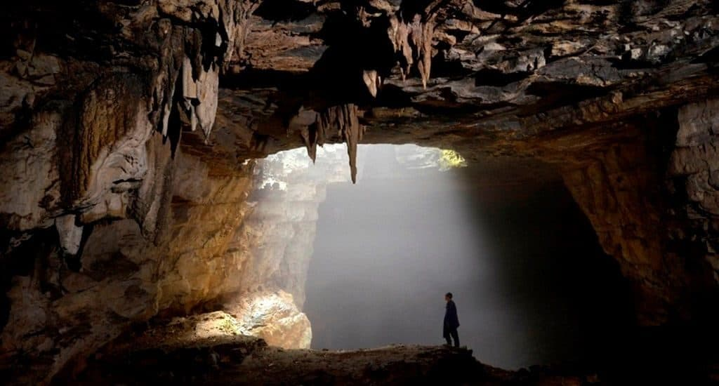 Микроклимат в пещере Эр Ван Донг