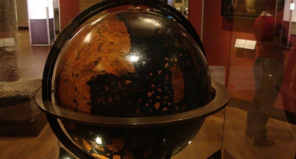 Глобус Бехайма в музее Нюрнберга