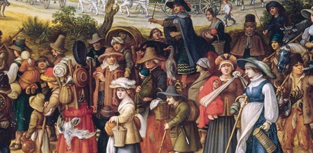 Люди в средние века