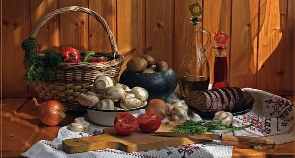 Крестьянская пища