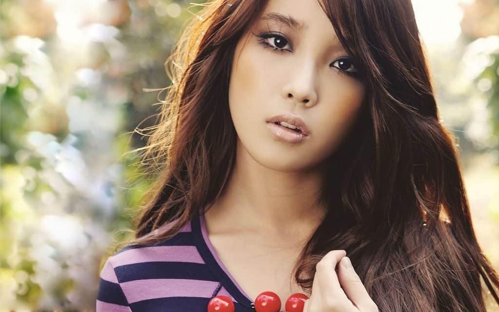 Девушка из Южной Кореи