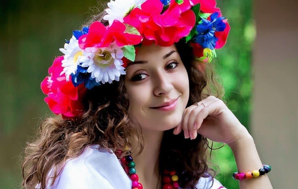 Красивая украинка