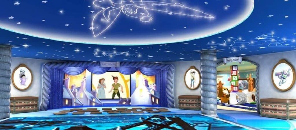 Видеоиллюминаторы на «Disney Dream»