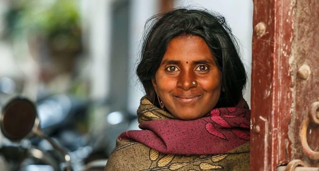 Женщина из племени бишнои
