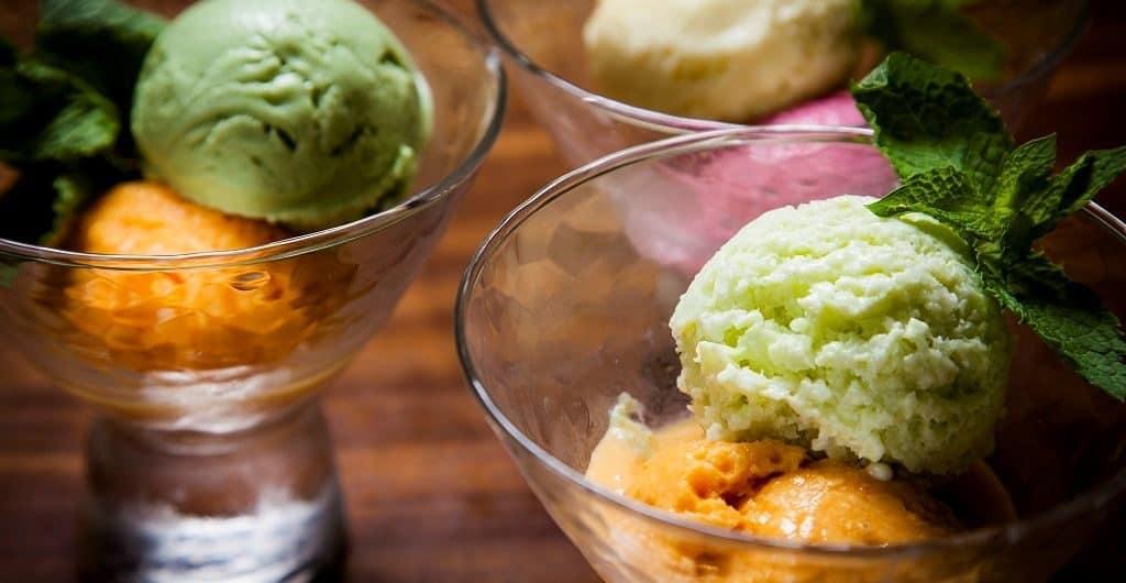 Хвойное мороженое