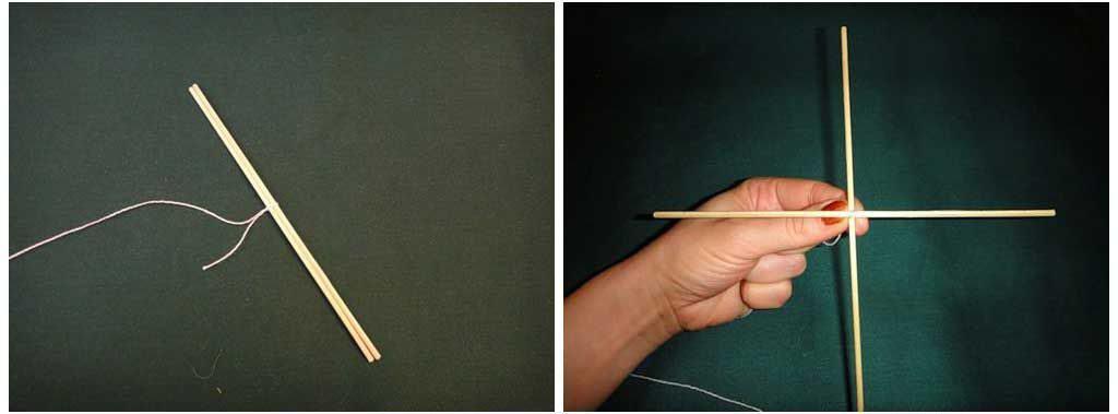 2 шпажки нитки