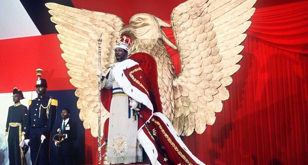 Коронование Жана-Беделя Бокасса