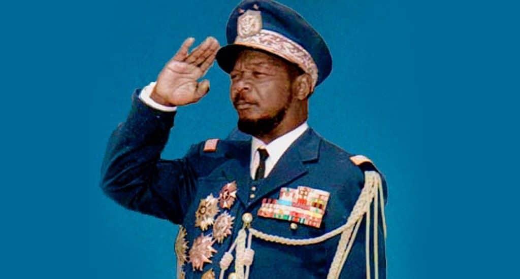Жан-Бедель Бокасса - президент Центральноафриканской Республики