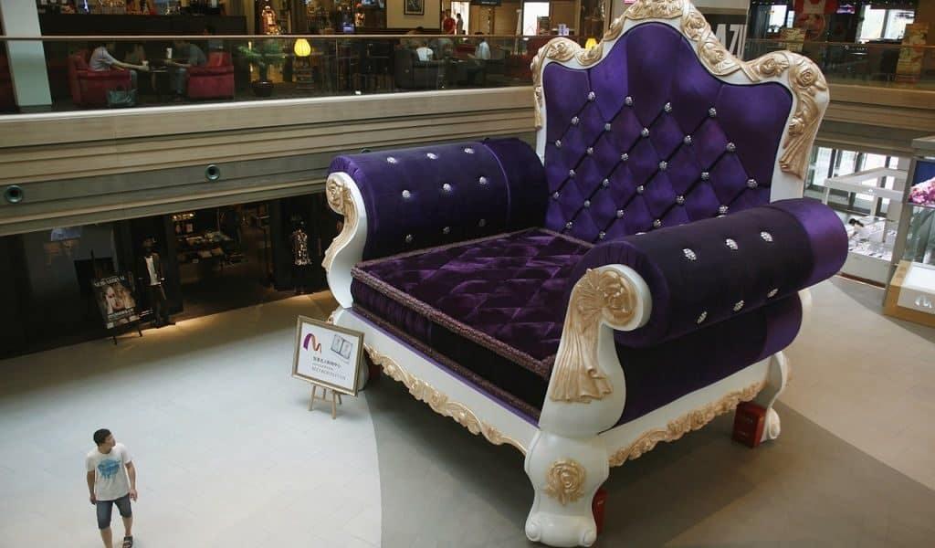 Самое большое кресло