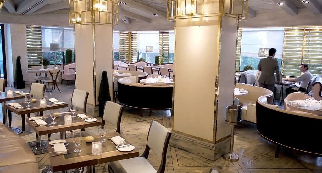 Лондонский ресторан «Gordon Ramsay»