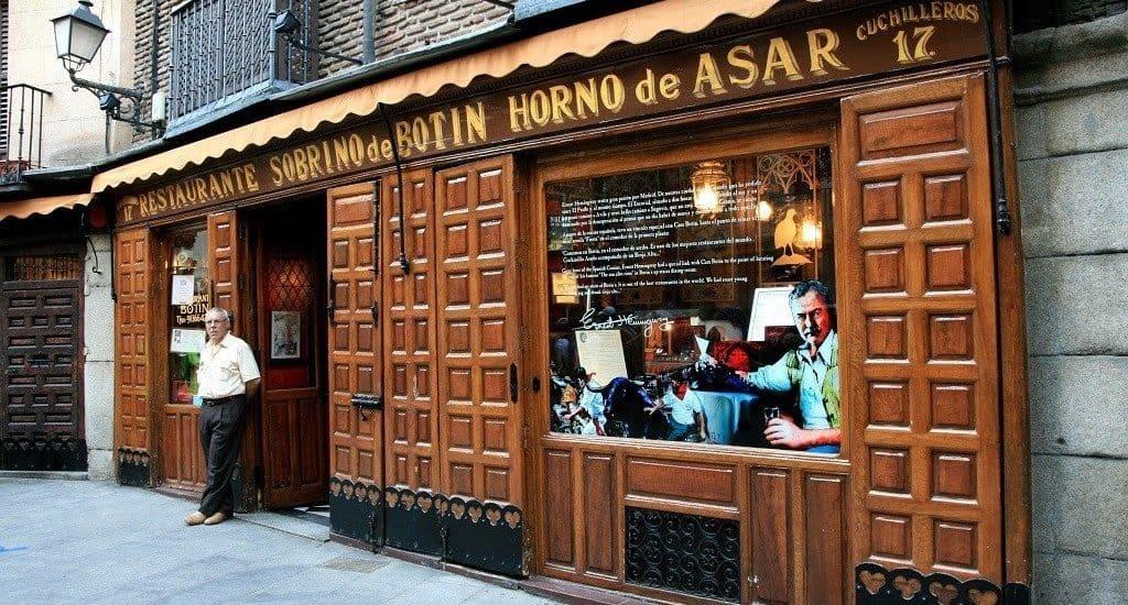Ресторан «Sobrino de Botin»