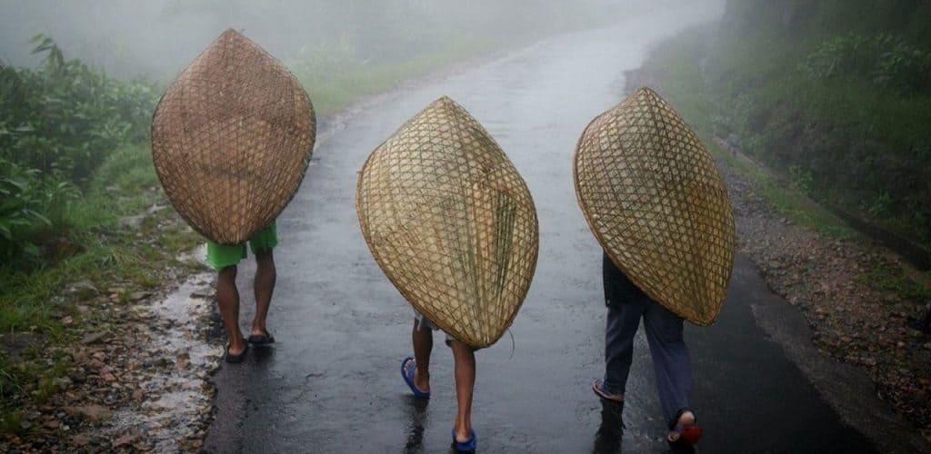 Индийская дождливая деревушка Мавсилам