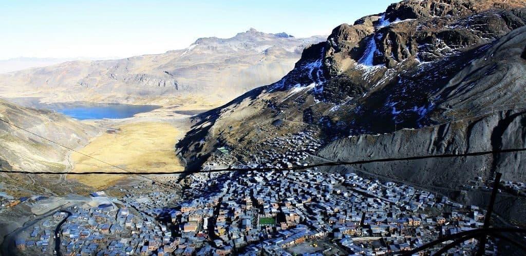 Город Ла-Ринконада в Перу