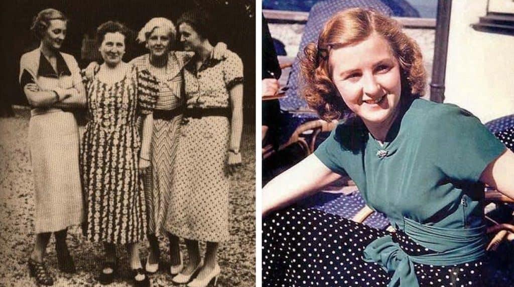 Ева Браун с сестрами