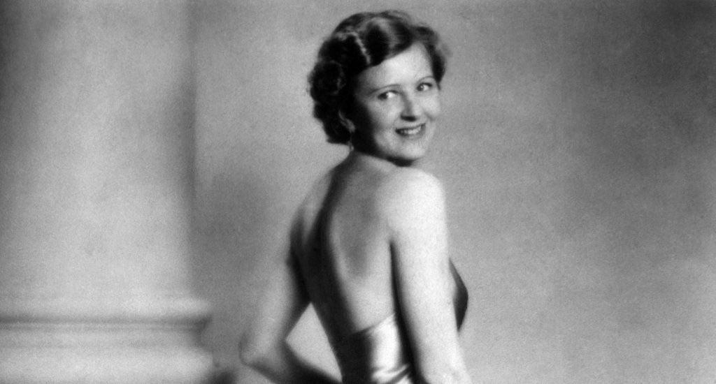 Жена Гитлера в молодости
